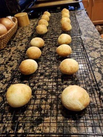 So many rolls....nom